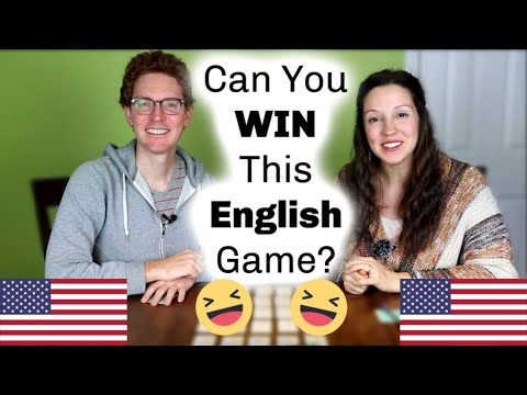 Play an English Vocabulary Game with us!