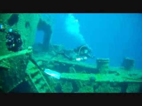 """Shipwreck """"MARIANNA"""" Naxos island"""