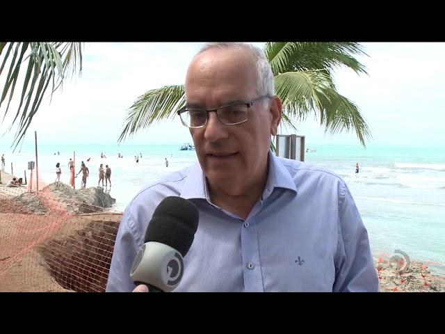 Obra na praia de Ipioca divide opiniões de órgãos ambientais