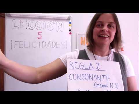 Hola amigos - 5. lekce španělštiny s misionářkou