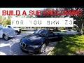 Building a Sub Box for BMW Z3