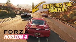 Forza Horizon 4 — Alle Jahreszeiten angespielt — German Gameplay