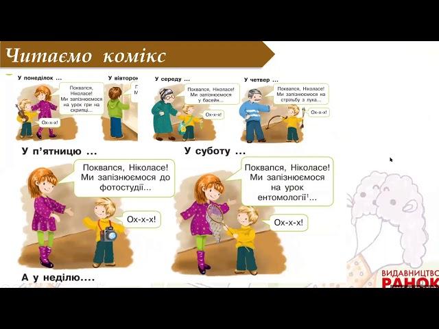 2 клас. Українська мова. Службові слова