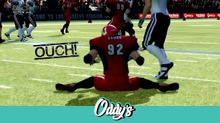 Backbreaker: Ouch! (Big Hit Montage)