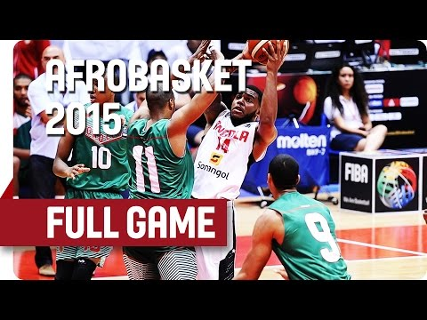 Angola v Morocco - Group B- Full Game - AfroBasket 2015