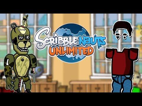 Scribblenauts Unlimited 290 Baldi's Basics FILENAME2 & FNaF