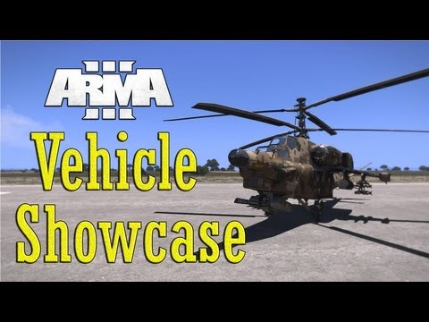 Arma 3 - All Vehicles Showcase in 150 Seconds [Full Release]