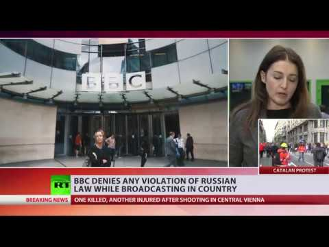 Russia tests BBC after Ofcom says RT violated rules
