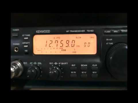 AFN American Forces Network (Diego Garcia Island, Indian Ocean) - 12759 kHz