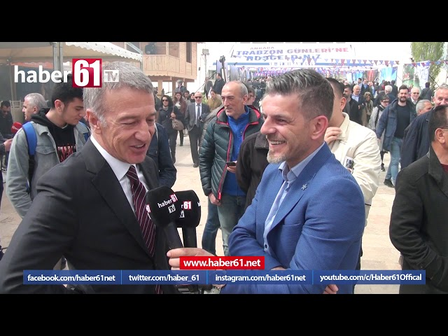 Ahmet Ağaoğlu'ndan Haber61'e özel açıklamalar