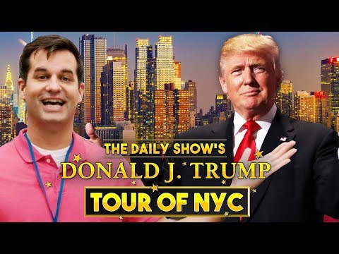 The Donald J. Trump Tour of New York City | The Daily Show