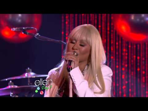 Christina Aguilera and Blake Shelton -