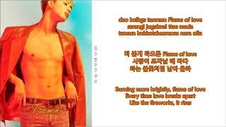 Gambar cover Taemin - Flame of Love [Korean Ver.] (Rom~Han~Eng)