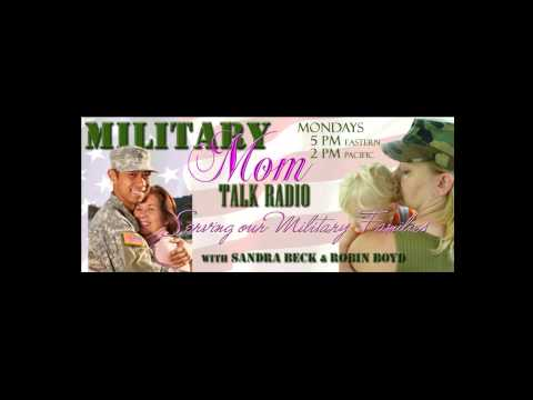 Carrie Vitt On Military Mom Talk Radio with Sandra Beck