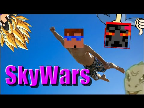 THE BEST OF MINECRAFT HACKERS - Skywars Highlights
