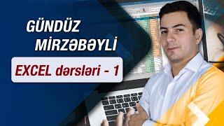 Excel 2010 dersleri 1.