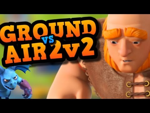 "2V2 CLAN BATTLE ""Experimental Decks"" - All Spells, Ground vs Air & Fav Cards IN Clash Royale"