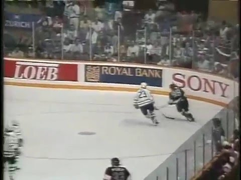 Wayne Gretzky Hat Trick vs Leafs - 1993 Conference Finals