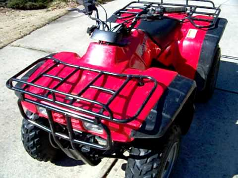 1998 Honda Fourtrax 2wd for sale - YouTube