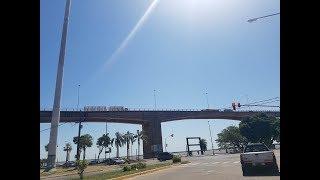 Tránsito complicado por trabajos en el puente interprovincial