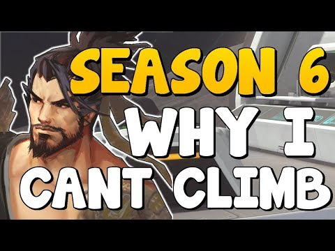 Why Am I STUCK In [Bronze Silver Gold Platinum] | How To Improve At Overwatch - Competitive Season 6