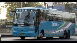 APSRTC Garuda Plus Mercdes Benz Bus India//SHORT FILM
