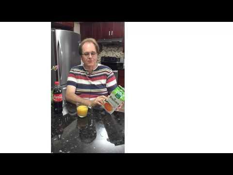 Paul's Takeaway 4 Tropicana Orange Juice vs  Coca Cola For Sugar Supremacy © 2015