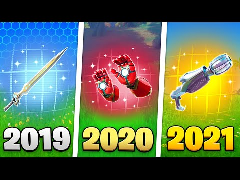 Fortnite's History of Mythic Items