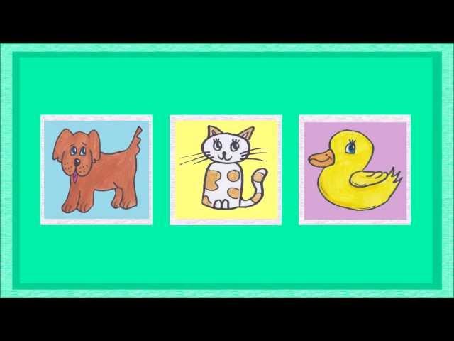 Tiere - Spiel