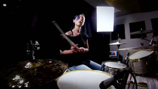 Lindsey Raye Ward - Katy Perry- Never Really Over (Drum Cover) Video
