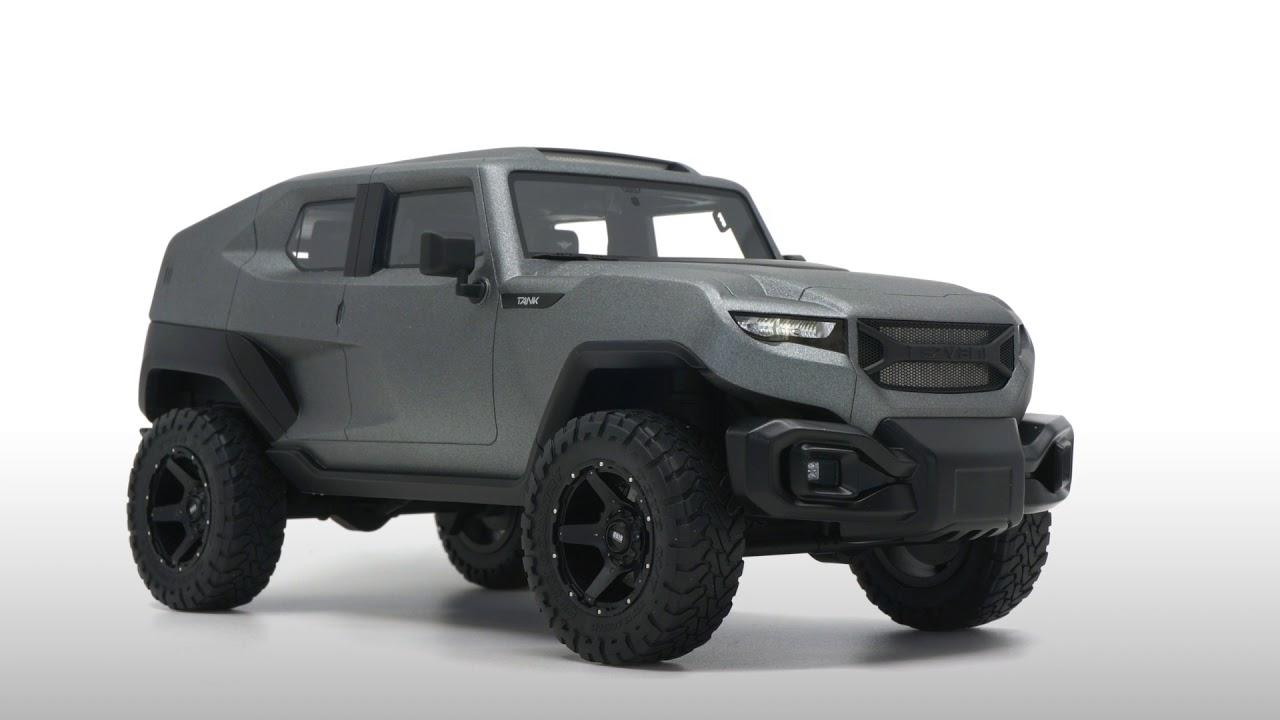 Rezvani SUV Jeep Tank 2018 1:18 DNA Resin NEU