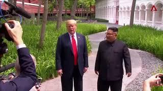 10 top moments of Trump Kim summit
