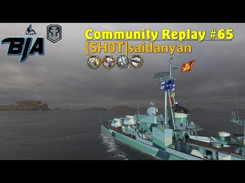 World of Warships- YueYang Double Liquidator (Community Replay #65)