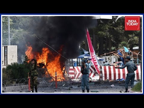 Rocket Attacks On Kabul Airport As U.S Diplomat Arrives
