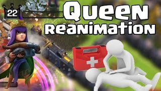 [Clash of Clans ] DEUTSCH || Queen ToT || Reanimation ||