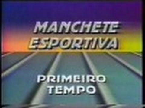 Manchete Esportiva Primeiro Tempo - Rede Manchete, 17/12/1988 (NA ÍNTEGRA!!!)