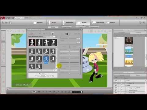 Hướng dẫn sử dụng chức năng tổng quát Crazytalk Animator