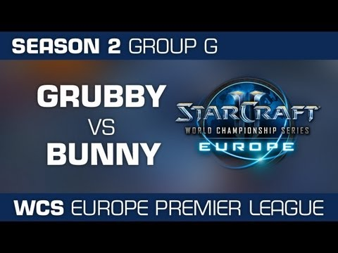 Grubby vs. Bunny - Group G Ro32 - WCS European Premier League - StarCraft 2