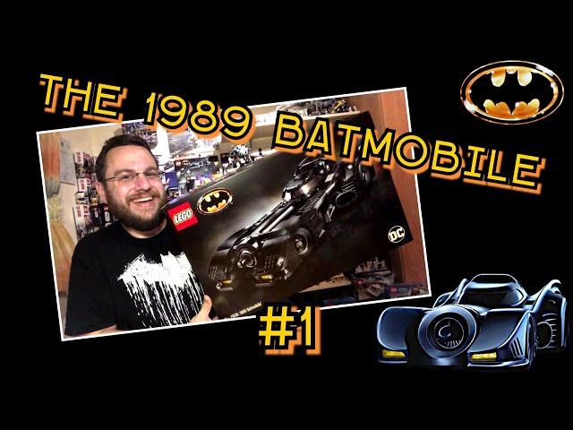 1989 Batmobile - Iconic Movie Car And Awesome Lego Set (76139) - Part 1