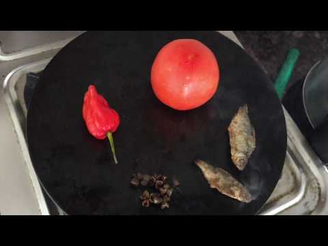 Naga King Chilli Chutney With Dried Fish.