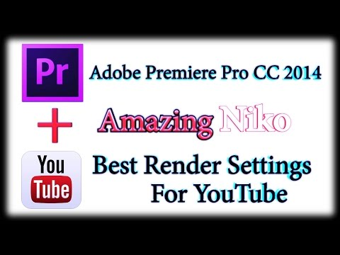 Лучшие настройки рендера с помощью Adobe Premiere Pro CC 2014