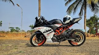 MODIFICATIONS ON KTM RC 390.