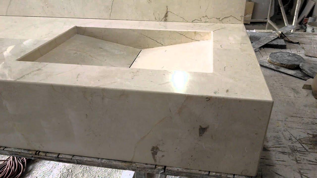 cubierta minimalista de m rmol crema bellagio youtube