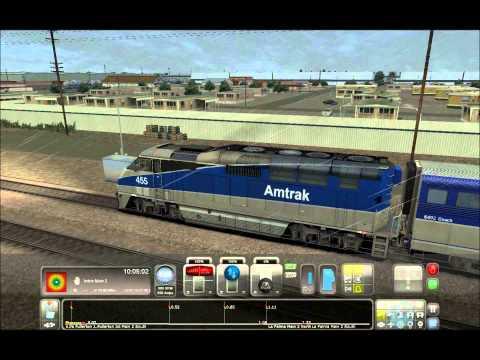 Amtrak Pacific Surfliner F59PHI Train Simulator 2014  
