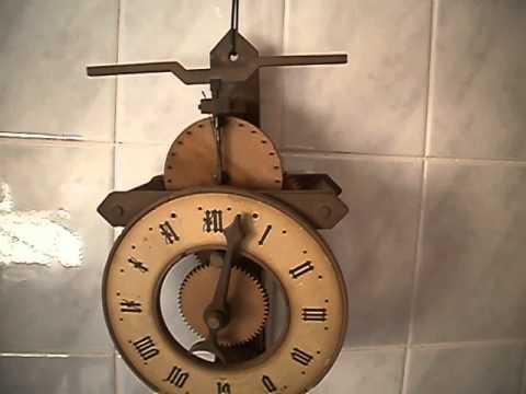 Reloj de pendulo buco baumann suiza youtube for Relojes de pared antiguos de pendulo