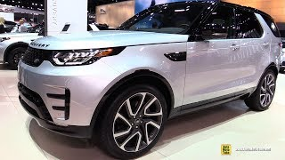 2018 Land Rover Discovery HSE Si6 - Exterior and Interior Walkaround - 2017 LA Auto Show