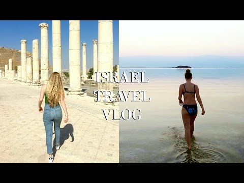 Dead Sea, Roman Ruins, Sea of Galilee | Israel Travel Vlog