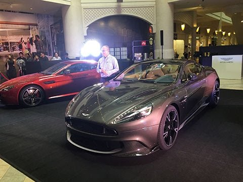 Aston Martin Launches the New Vanquish S in Manila   Industry News
