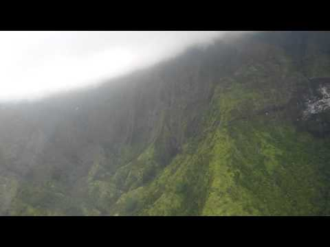 Kauai Helicopter tour - Mt. Waialeale Crater
