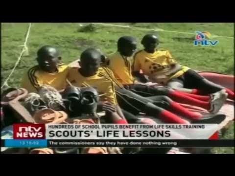 Students equipped with life skills in 3 day scouting competition